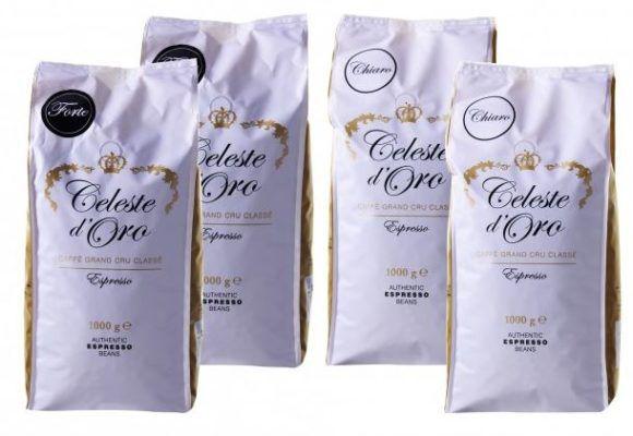 Celeste dOro 4kg slow roasted Kaffeebohnen für nur 43,93€