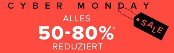 Dress for Less Cybermonday bis 80% Rabatt + 10% Gutschein  z.B. Tommy Hilfiger Mantel ab 130€