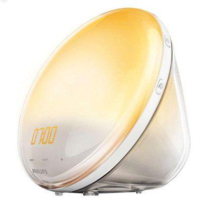 Philips HF3531/01 Wake Up Light mit Sonnenaufgangsfunktion & Radio für 99€ (statt 117€)