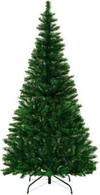 künstlicher Weihnachtsbaum 150 cm 310 Spitzen für 14,95€