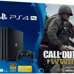 PlayStation 4 Pro 1 TB + Call of Duty WWII + That's You ab 319€