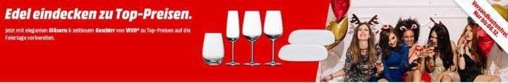 Media Markt: Vivo Gläser zu Top Preisen im set ab 8€ + VSK frei bis Mitternacht