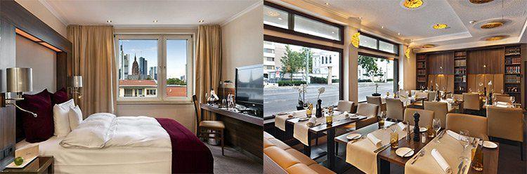 Silvester in Frankfurt inkl. 2 ÜN mit Frühstück, Silvesterbuffet, Wellness & Late Check Out für 199,99€ p.P.