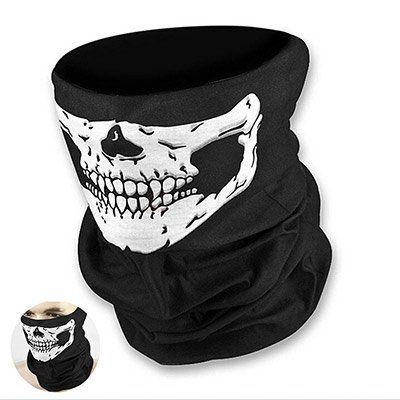 Skull Maske in Schwarz für 0,18€