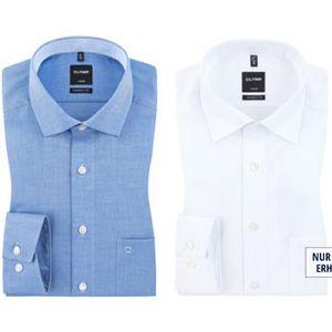 Hemden von OLYMP ab je 25€ + 10€ Gutschein ab 80€