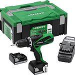 Hitachi DS 14DSFL 1,5 Ah Akku-Bohrschrauber inkl. 2 Akkus & Transportbox für 104€ (statt 155€)