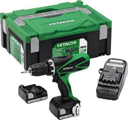 Hitachi DS 14DSFL 1,5 Ah Akku Bohrschrauber inkl. 2 Akkus & Transportbox für 104€ (statt 155€)