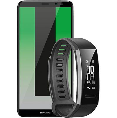 Huawei Mate 10 Lite 64 GB + HUAWEI Band 2 Pro für 325€ (statt 397€)