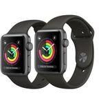 Geht jetzt! Apple Watch Series 3 GPS  42mm für 299,99€ – Retouregerät (statt 350€)