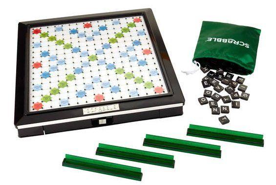 Gesellschaftsspiel Scrabble Deluxe für 33,94€ (statt 46€)