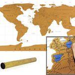 XXL Rubbel-Weltkarte für 4,99€