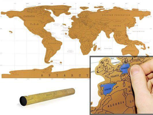 XXL Rubbel Weltkarte für 4,99€
