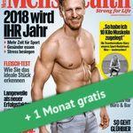 4 Ausgaben Men's Health für 17,70€ + Prämie: 16,20€ Verrechnungsscheck