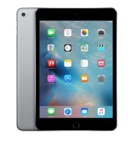 Apple iPad mini 4 WiFi 128GB grau für 379€