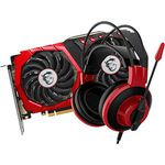 MSI GeForce GTX 1050Ti Gaming X 4GB (V335-001R) + MSI DS501 Headset inkl. Rocket League Download-Code für 169€ (statt 198€)