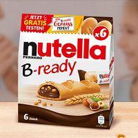 Nutella B-ready gratis ausprobieren