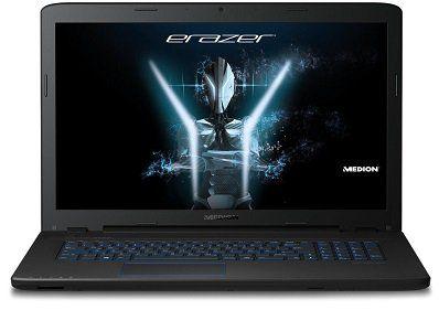 Medion Erazer P7647 (MD 60595)   Laptop mit GTX 950 M, 1 TB HDD, 256 GB SDD und 8 GB für 777€ (statt 900€)