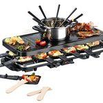 Gourmetmaxx Raclette mit Fondue Set XXL für 47,99€ (statt 70€)