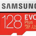 Samsung MicroSDXC EVO Plus – 128GB  Speicherkarte für 39,95€ (statt 51€)