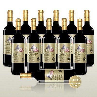 12 Fl. Rotwein   Castell Colindres Reserva (2011) für 49,90€ (statt 83€)
