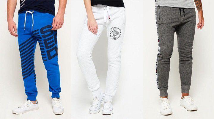 Superdry Jogginghosen für Damen & Herren für je 26,95€
