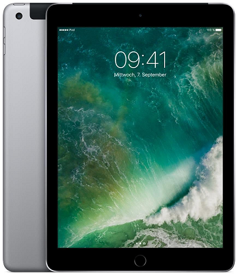 iPad 9,7 Zoll WLAN + 4G 32GB (Ausstellungsstück) für 229,90€(statt neu 351€)