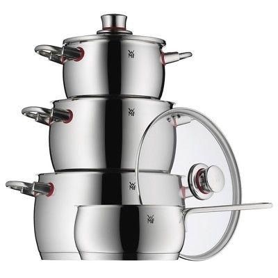 WMF Topfset Quality One   4 tlg. Topfset mit Stielkasserolle für 131,92€ (statt 155€)
