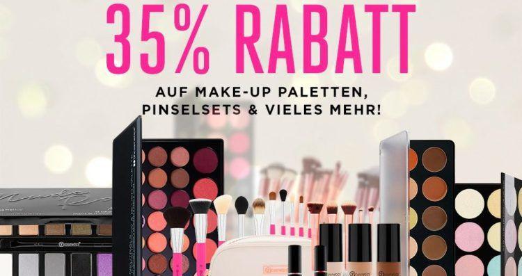 35% Rabatt auf ausgewählte Artikel bei BH Cosmetics + VSK frei ab 30€