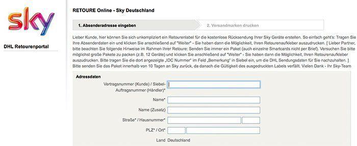 sky kndigen kndigungsfristen vorlage rckholangebote - Kabel Deutschland Kundigung Muster