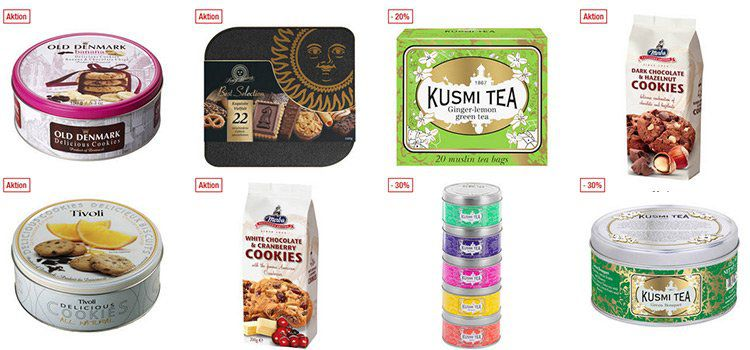 Galeria Kaufhof: 20% auf Tee und Gebäck