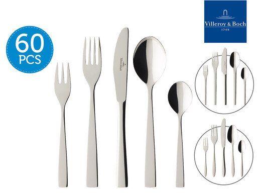 Verschiedene Villeroy & Boch Bestecksets für je 105,90€   z.B. 60 teiliges Tools Set für 105,90€ (statt 169€)