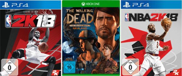 NBA 2K18 Game für PS4 o. XBoxe one 42€ uvm. im Media Markt Dienstag Sale