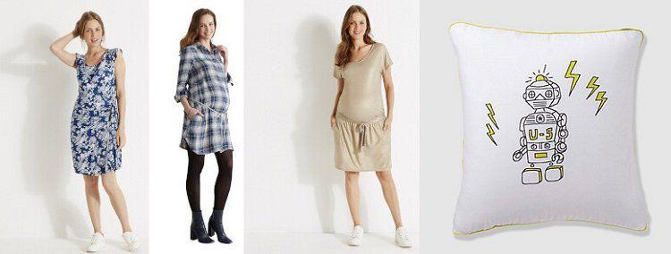 Vertbaudet Sale bei Vente Privee mit bis zu 70% Rabatt   z.B. Kleider für werdende Mütter ab 7€