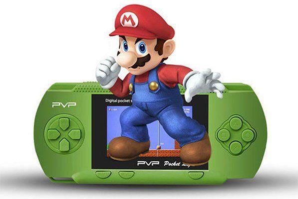 PVP3000   Handheld mit 100 Retrogames & 2,8 Display für 8,56€