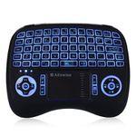 Alfawise KP – 810 – 21T – RGB 2.4G Wireless Keyboard mit Touchpad für 6,99€
