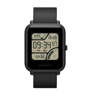 Xiaomi Huami Amazfit Bip   Smartwatch mit Schlafanalyse, Wetterfunktion, Notifcations & mehr für 44€