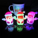 LED Weihnachtsmann Nachtlicht als Deko für 1,34€