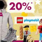 Karstadt Weekend Kracher: z.B.  20% auf Hosen & Jeans, Düfte, Packenger Koffer, ausgewähltes Playmobil …