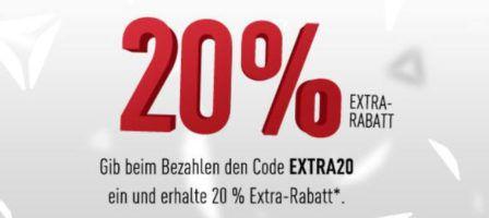 Top! Reebok mit 20% Sofortrabatt im 50% Sale   günstige Sportfashion