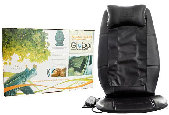 Global Impex Shiatsu Portatil Massage Sitzauflage für 34,99€