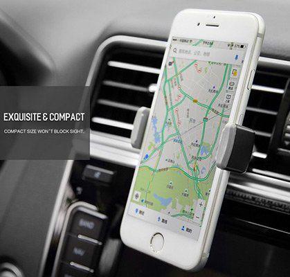 ROCK Handyhalterung für das Auto (neue Version) mit 360° Drehung für 2,67€