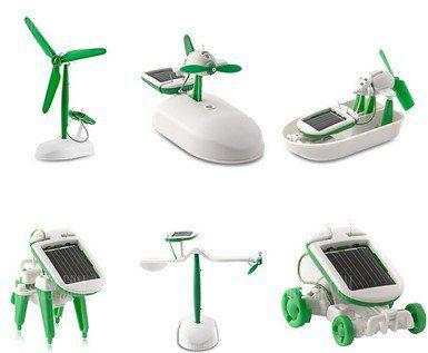 6 in 1 Solarroboter für 3,37€