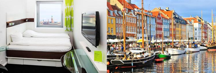 2   4 ÜN in Kopenhagen inkl. Frühstück & Eintritt zum Tivoli Park ab 119€ p. P.