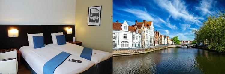2 ÜN im 4* Hotel in Brügge inkl. täglichem Frühstück, Dinner und Saunanutzung ab 89,50€ p. P.