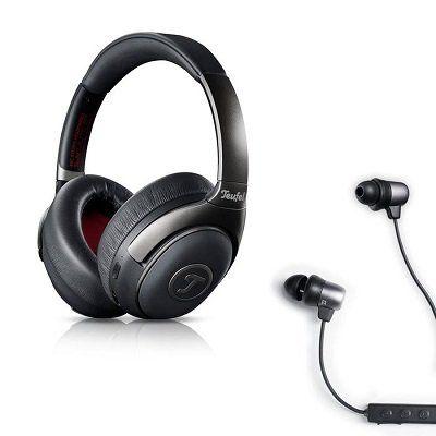 Teufel Mute BT limited Edition   kabellose Over Ear Kopfhörer mit ANC + In Ear Kopfhörer Move BT für 169,99€ (statt 236€)