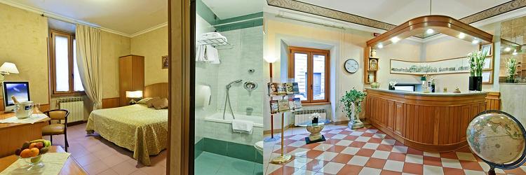 2   4 ÜN im 3* Hotel in Rom inkl. Frühstück und Flüge ab 139€ p.P.