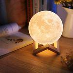 3D Mondlicht inkl. Holzhalterung für 15,99€ (statt 23€)