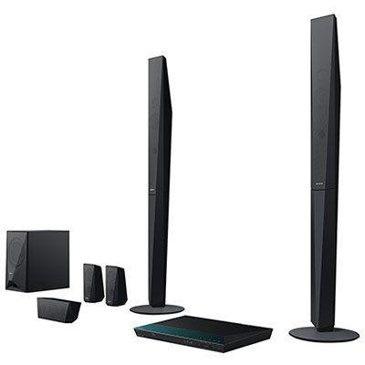 Sony BDV E4100 5.1 Blu ray Heimkinosystem (1000 Watt, 3D, W LAN, Smart TV, Bluetooth, NFC) für 254,15€ (statt 304€)