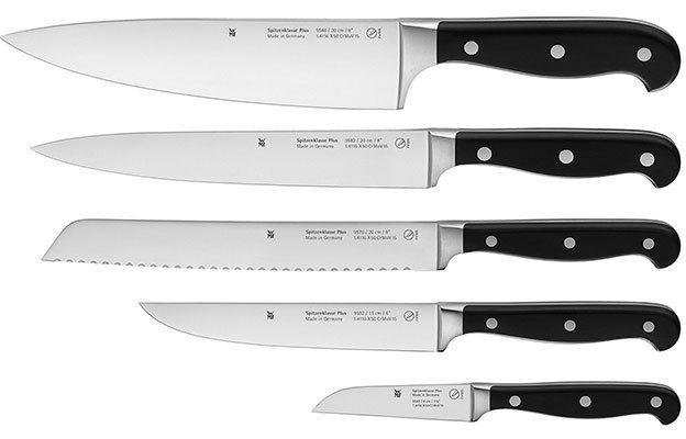 WMF Messerset (5 teilig) Spitzenklasse Plus mit Performance Cut für 117,24€ (statt 137€)