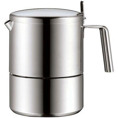 WMF 0631016030 KULT Espressomaschine aus rostfreiem Cromargan Edelstahl für 58,37€ (statt 79€)